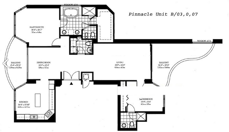 Pinnacle - Floorplan 1