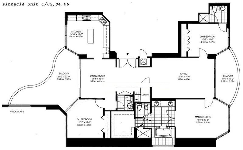 Pinnacle - Floorplan 2