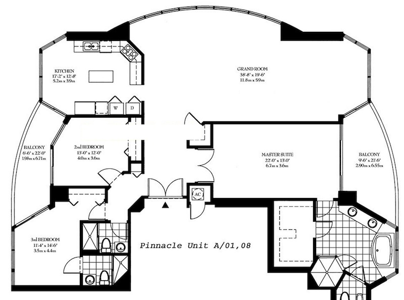 Pinnacle - Floorplan 3