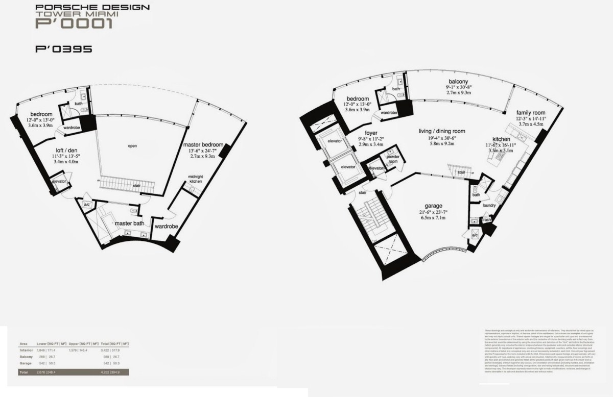 Porsche Design Tower - Floorplan 1