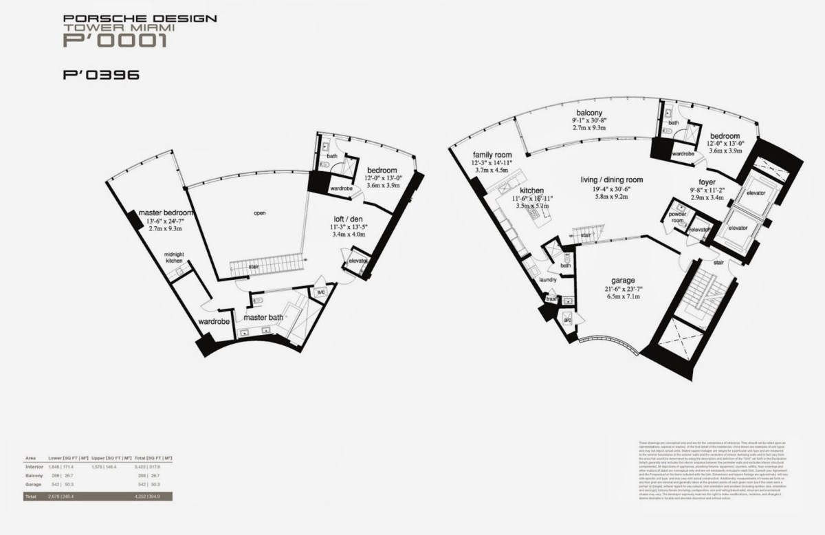 Porsche Design Tower - Floorplan 5