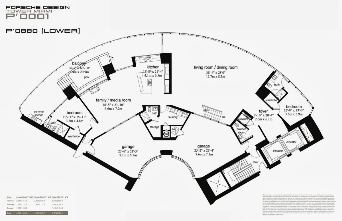 Porsche Design Tower - Floorplan 9