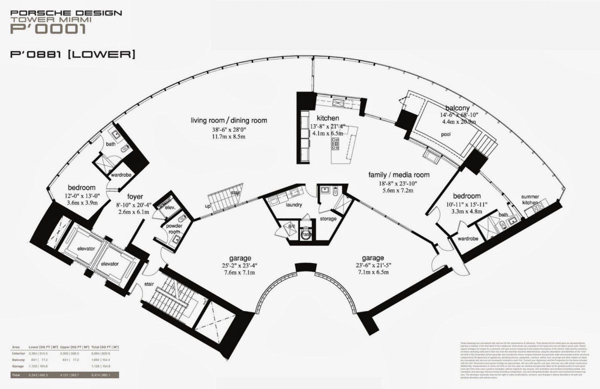 Porsche Design Tower - Floorplan 10