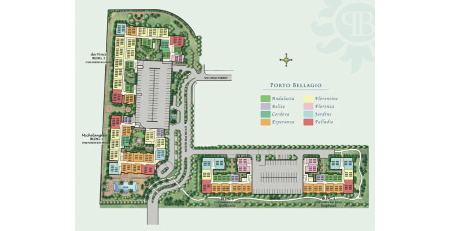 Porto Bellagio - Floorplan 1