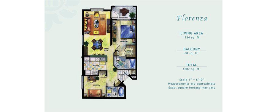Porto Bellagio - Floorplan 7