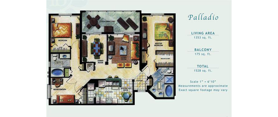 Porto Bellagio - Floorplan 9