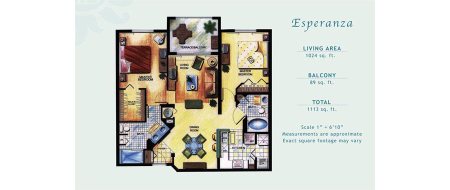 Porto Bellagio - Floorplan 5