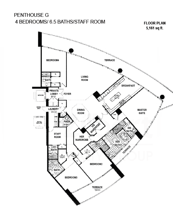 Porto Vita South Tower - Floorplan 7