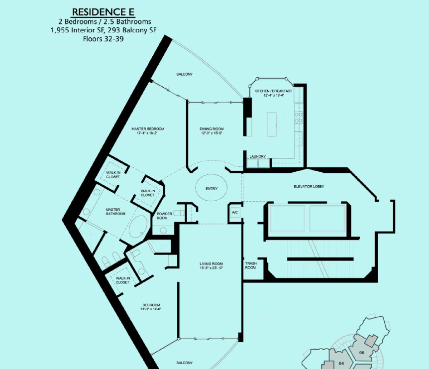 Portofino Tower - Floorplan 4