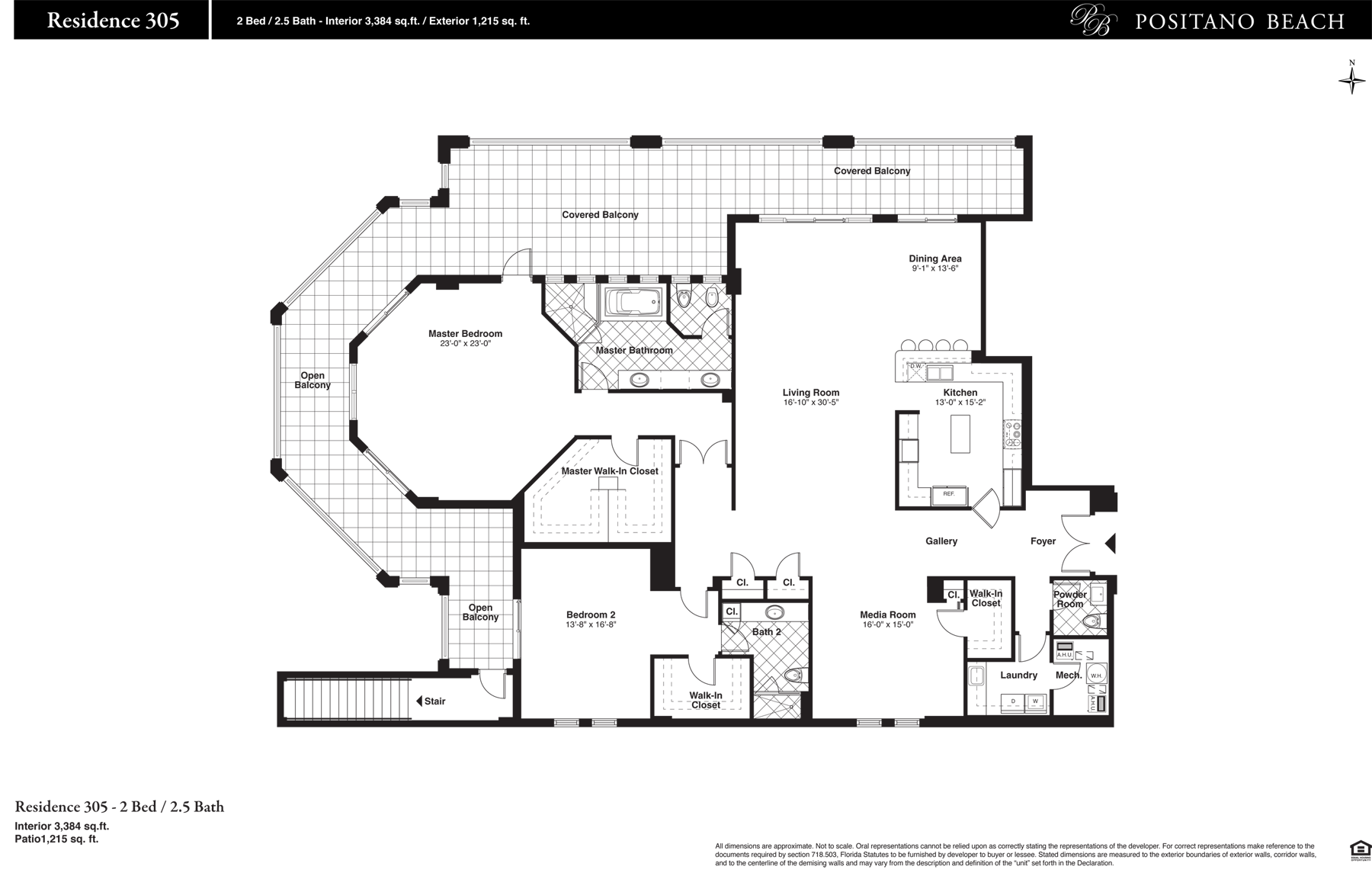 Positano Beach - Floorplan 3