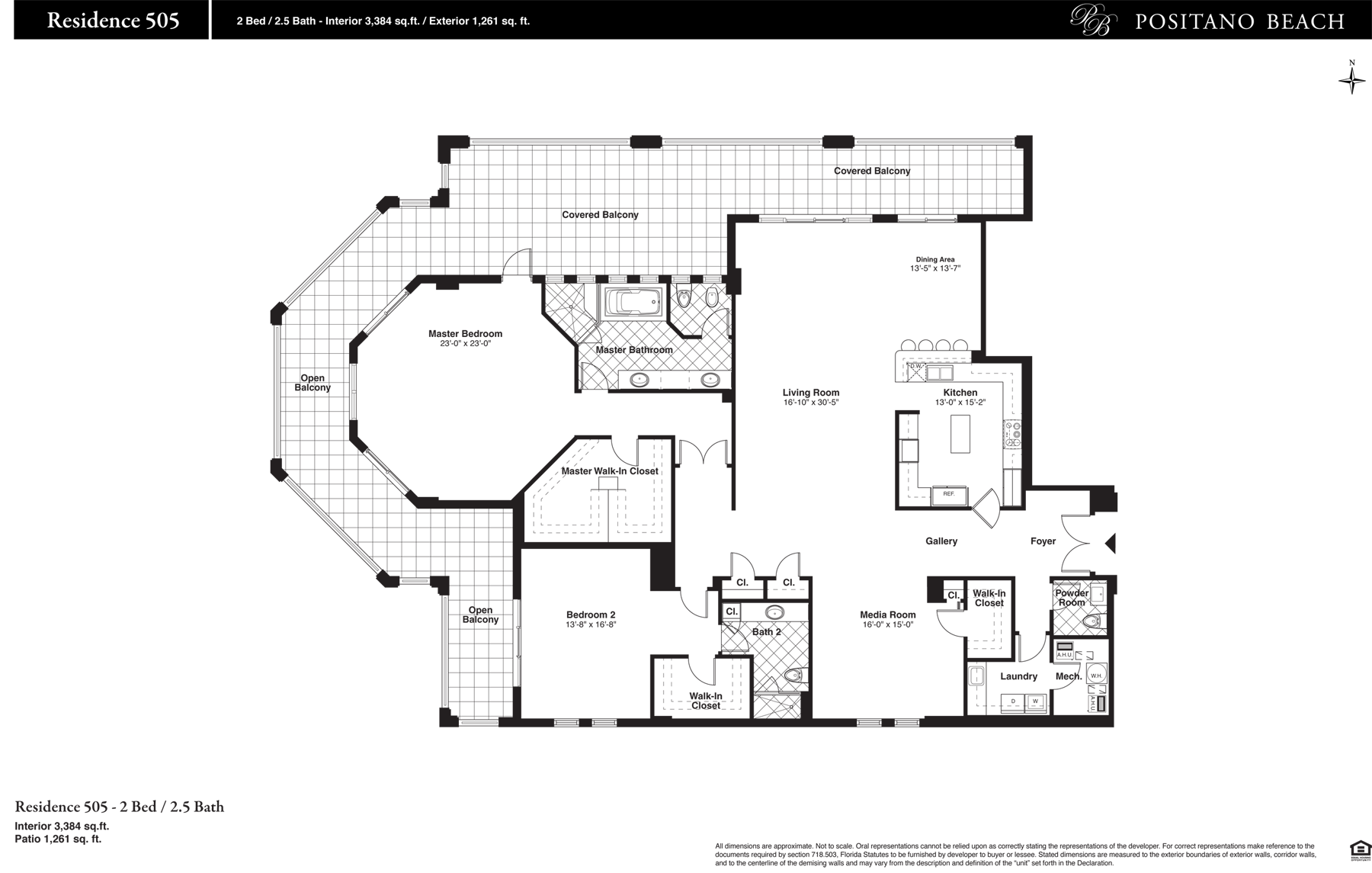 Positano Beach - Floorplan 7