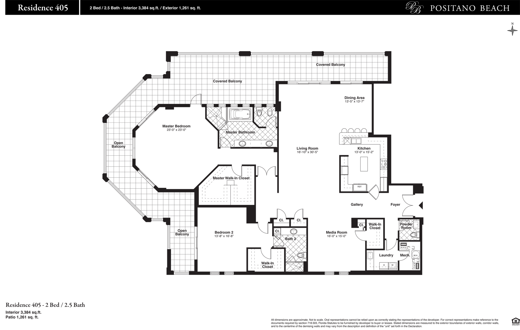 Positano Beach - Floorplan 8