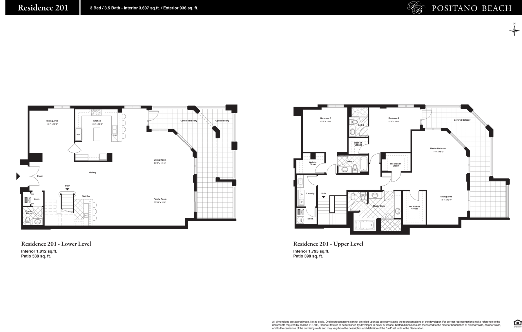 Positano Beach - Floorplan 10