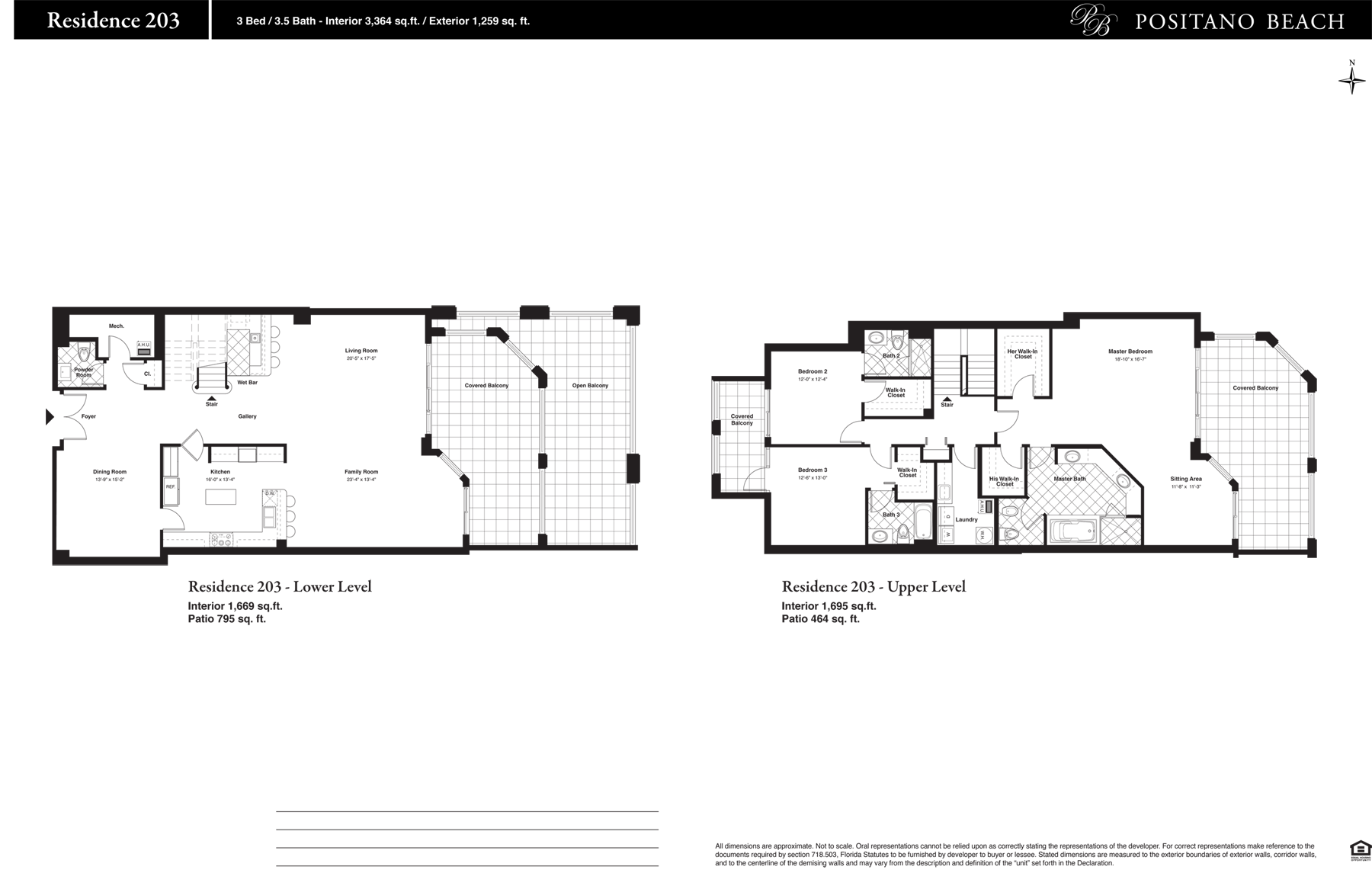 Positano Beach - Floorplan 11