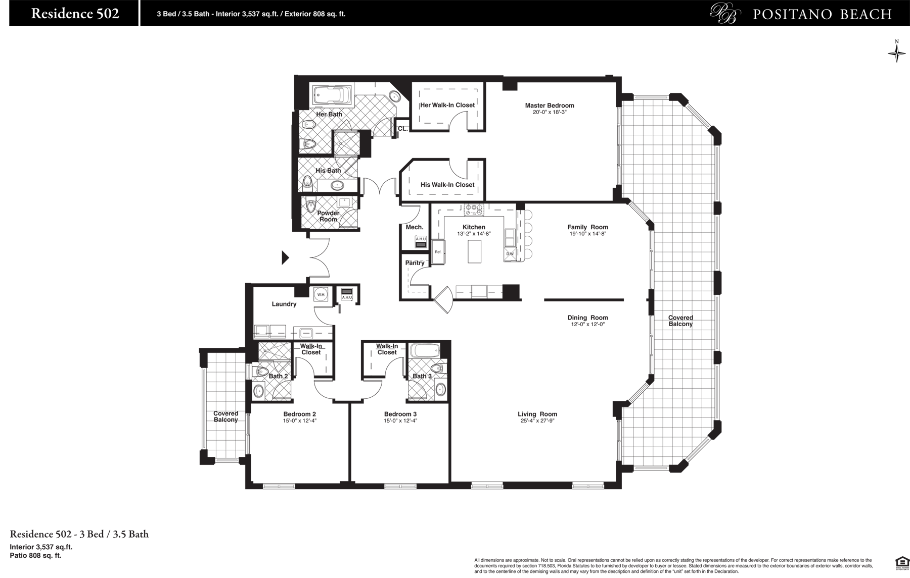 Positano Beach - Floorplan 13