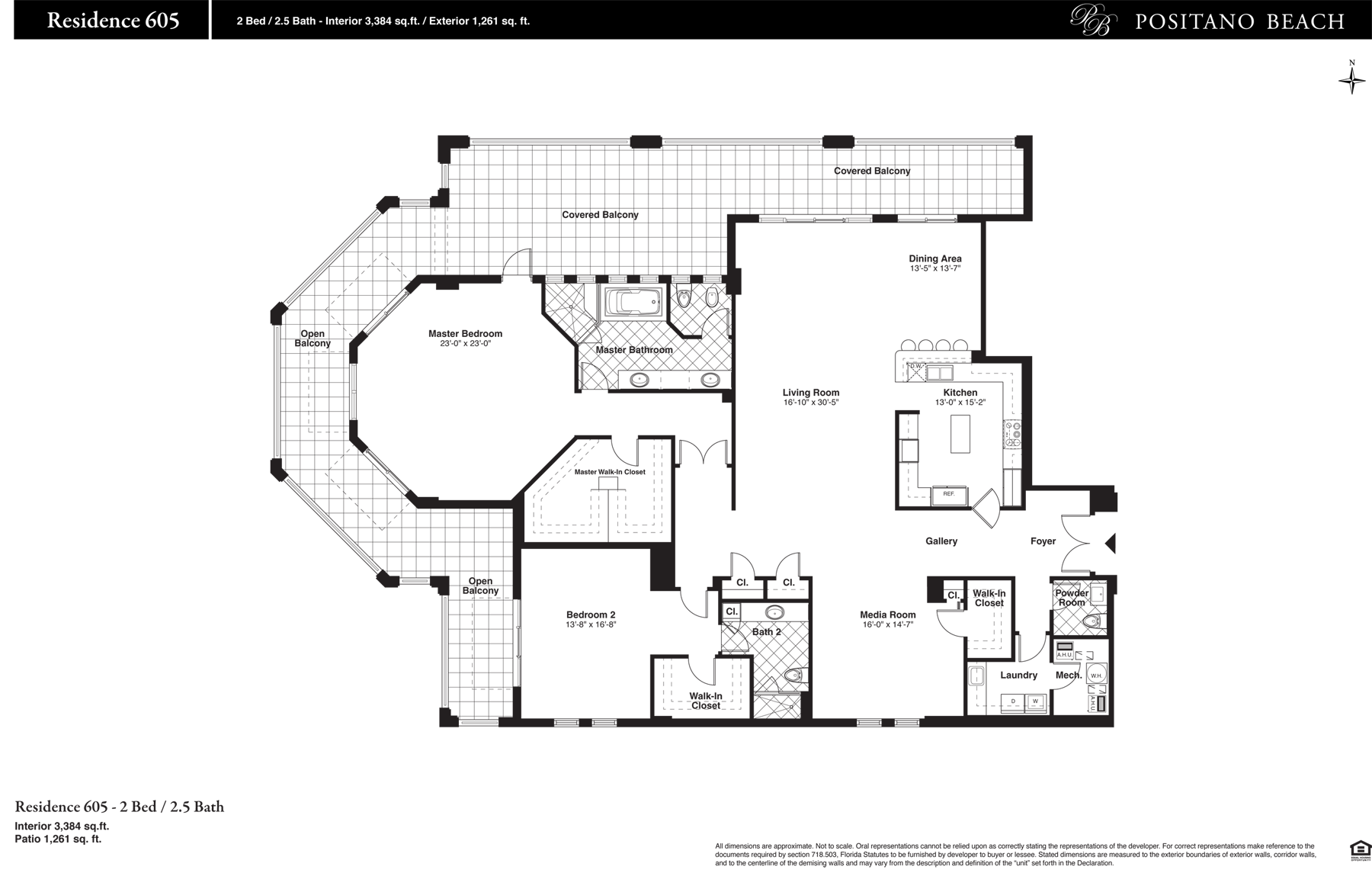 Positano Beach - Floorplan 16