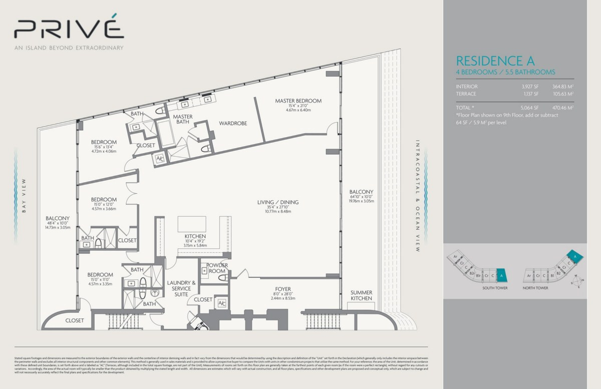 Prive - Floorplan 1