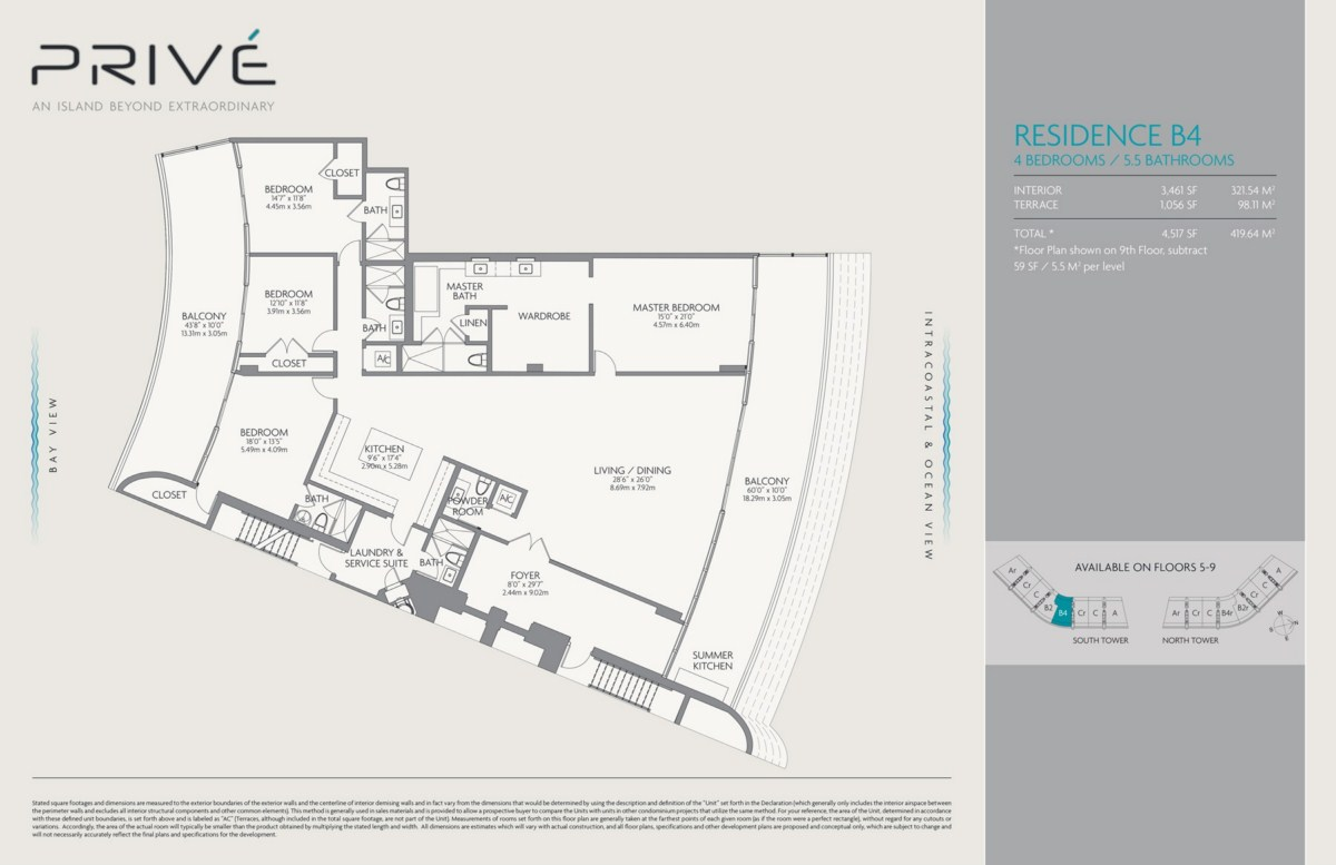 Prive - Floorplan 2