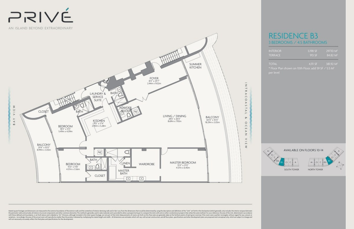 Prive - Floorplan 3