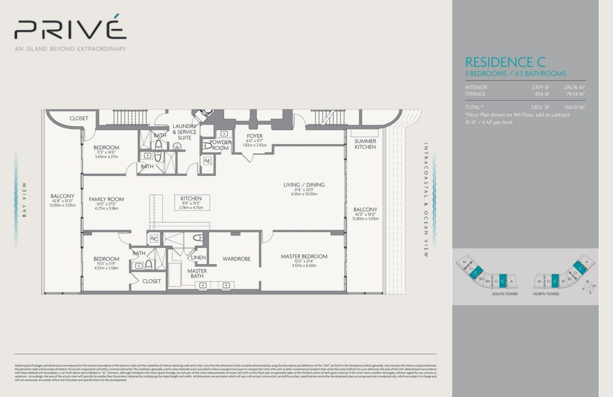 Prive - Floorplan 4