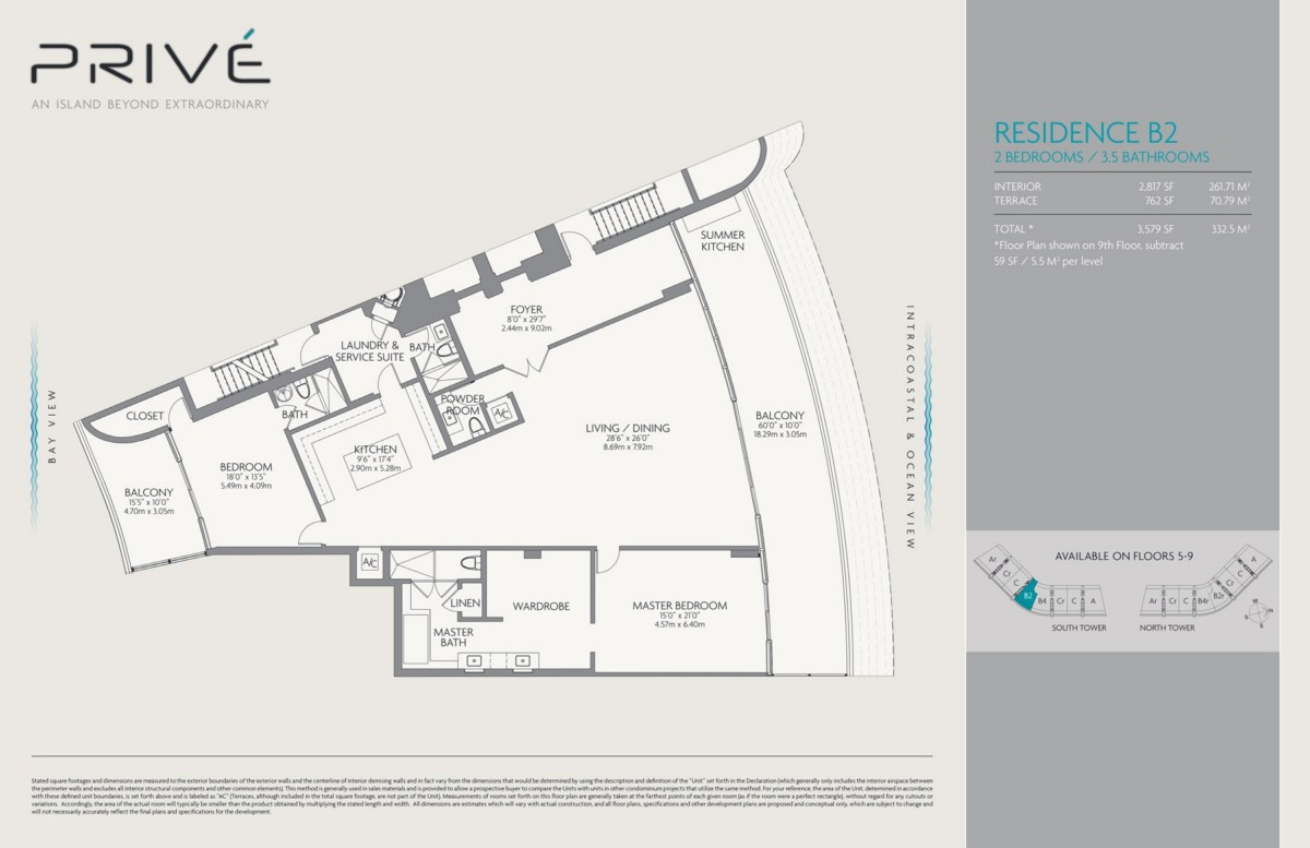 Prive - Floorplan 5