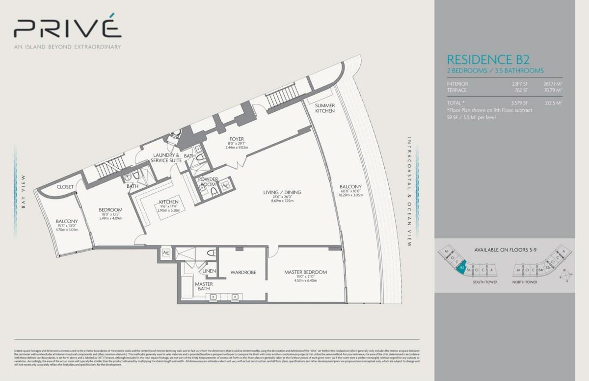 Privé - Floorplan 5