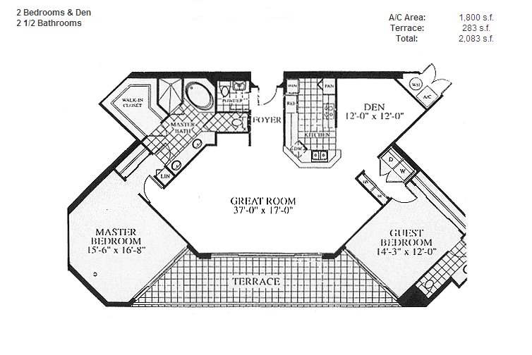 Renaissance On The Ocean - Floorplan 4