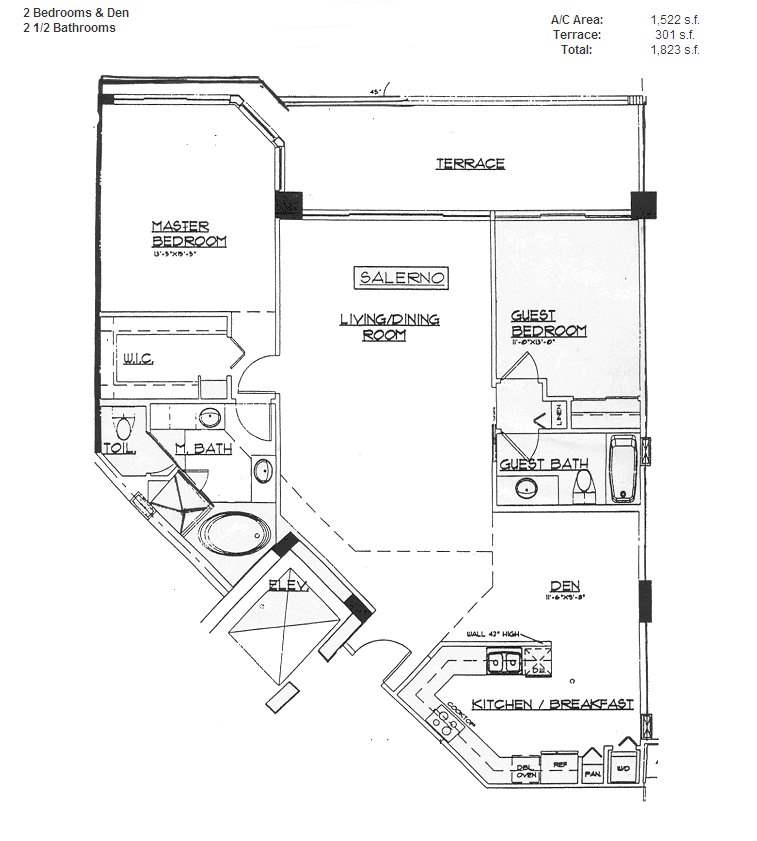 Renaissance On The Ocean - Floorplan 8
