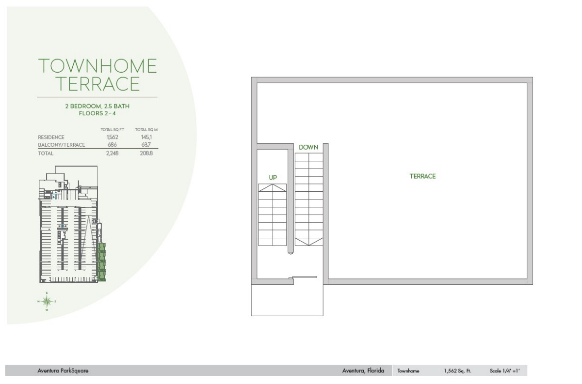 Residences at Park Square - Floorplan 2
