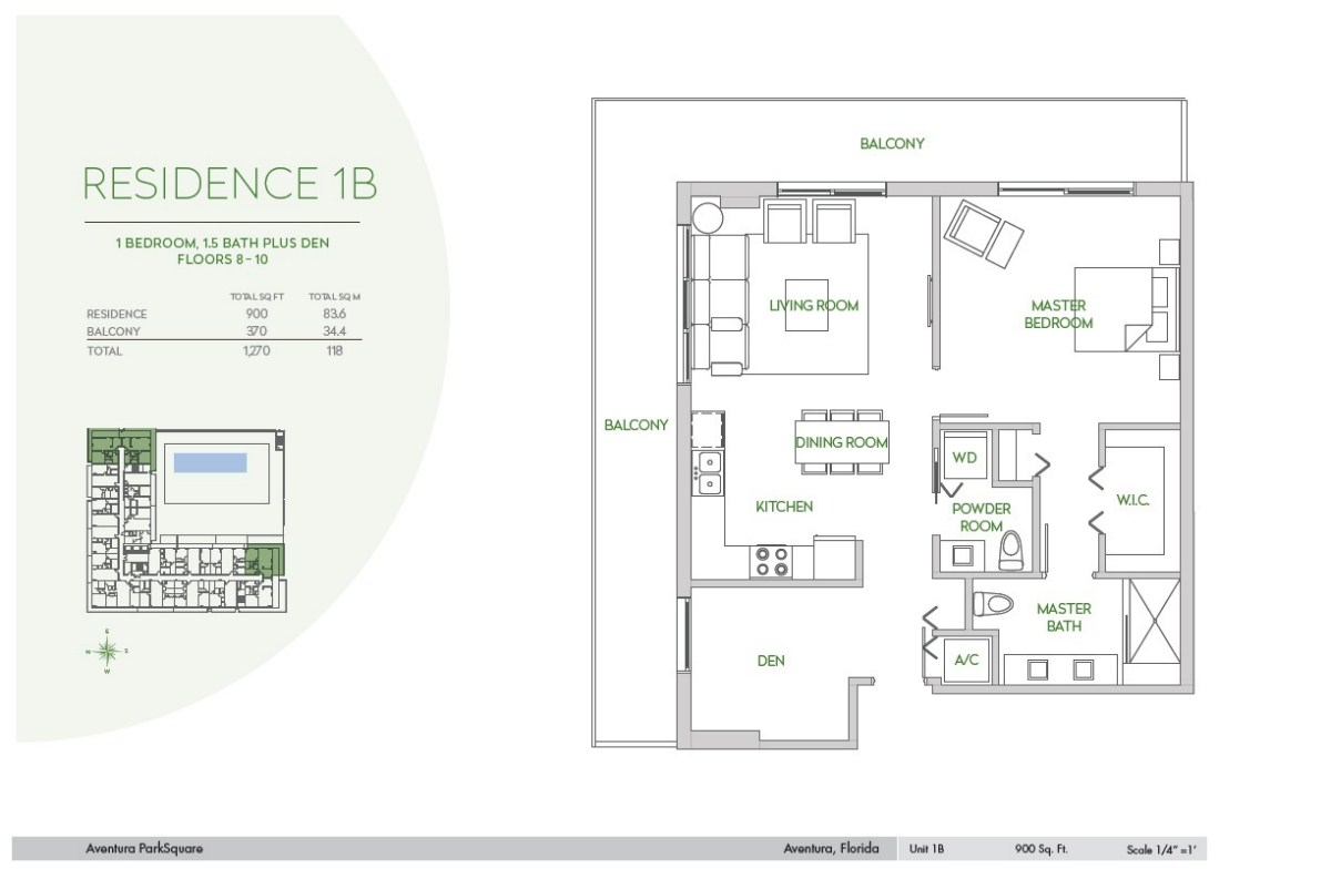 Residences at Park Square - Floorplan 3