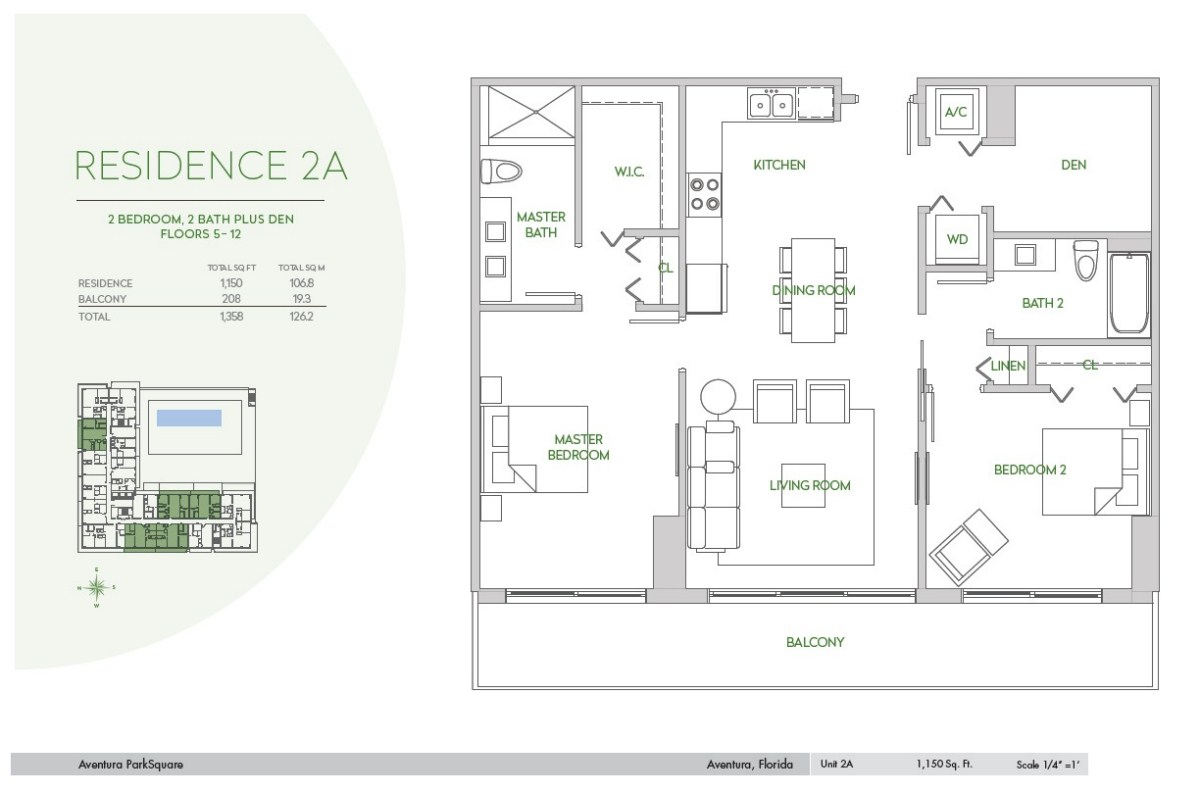 Residences at Park Square - Floorplan 4