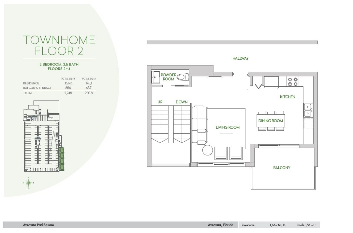 Residences at Park Square - Floorplan 5