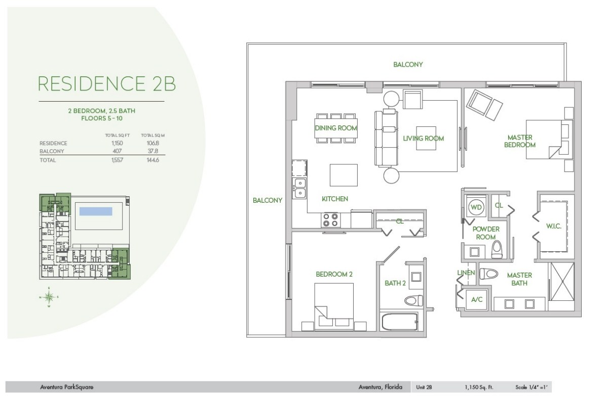 Residences at Park Square - Floorplan 6