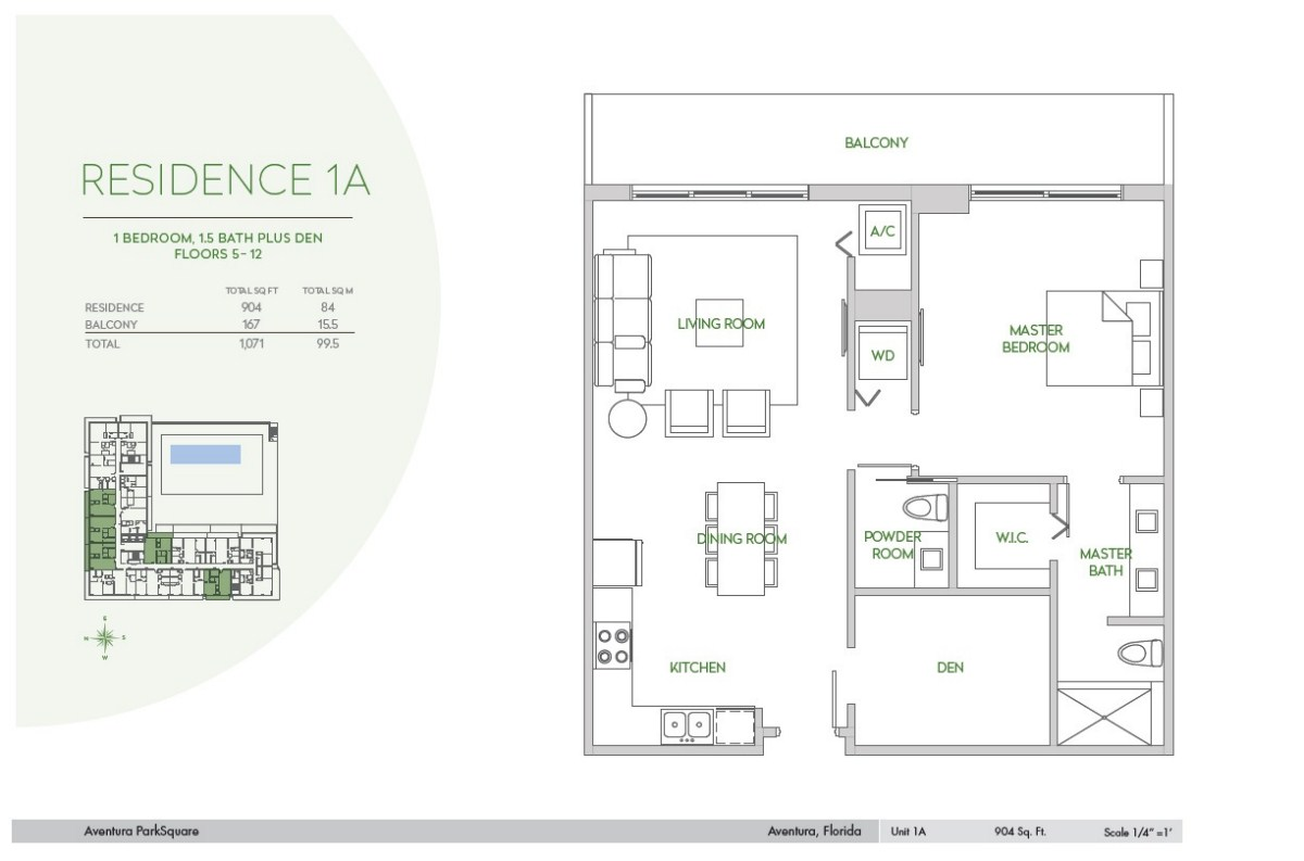 Residences at Park Square - Floorplan 8