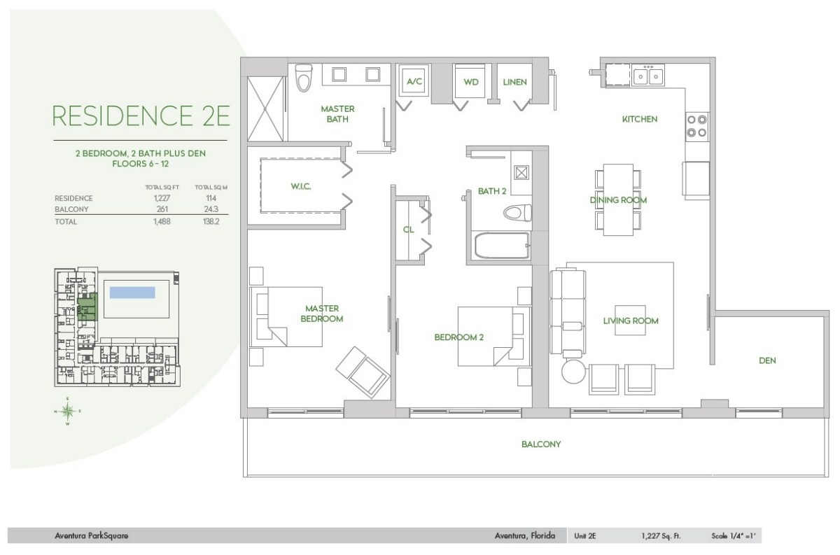 Residences at Park Square - Floorplan 9