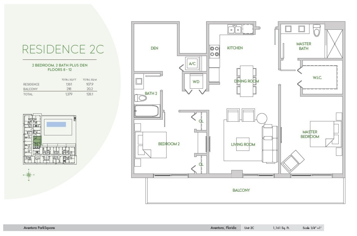 Residences at Park Square - Floorplan 10