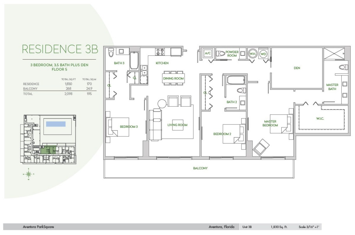 Residences at Park Square - Floorplan 12