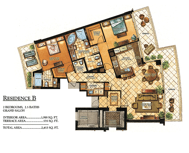 Ritz-Carlton Bal Harbour - Floorplan 5