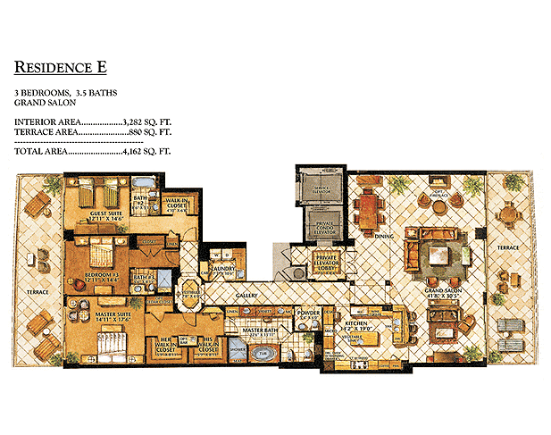 Ritz-Carlton Bal Harbour - Floorplan 6