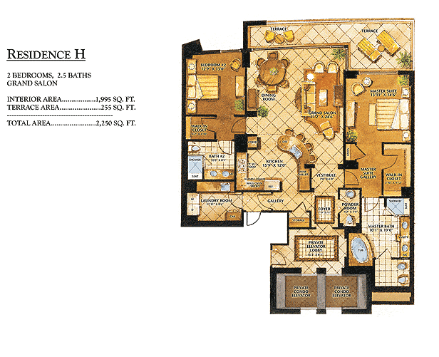 Ritz-Carlton Bal Harbour - Floorplan 8