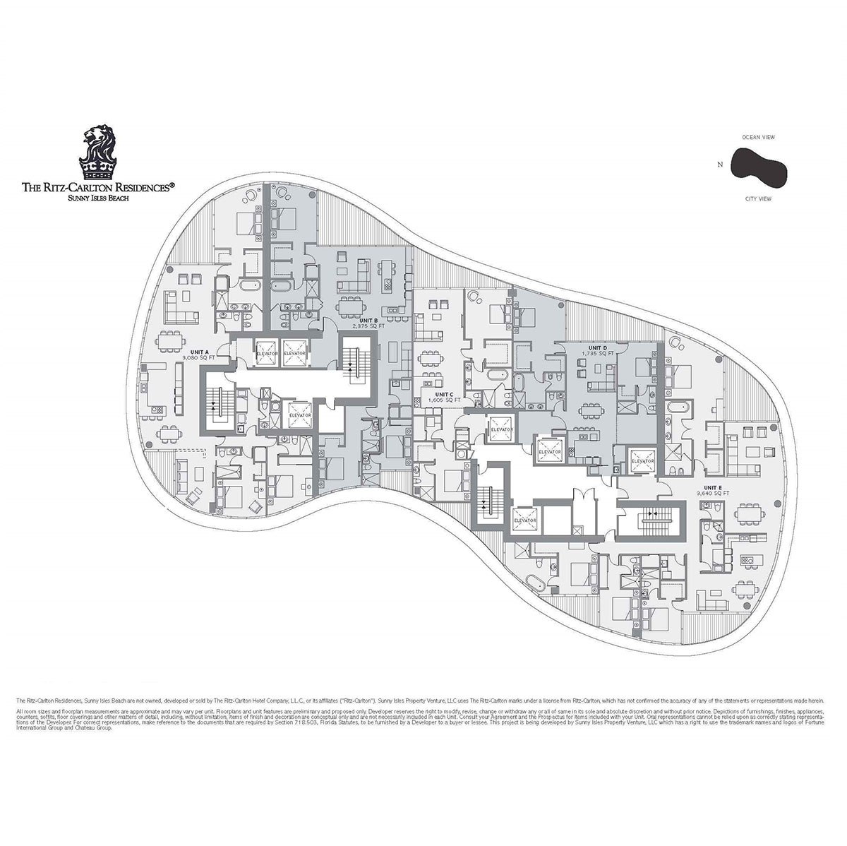Ritz-Carlton Residences Sunny Isles Beach - Floorplan 6
