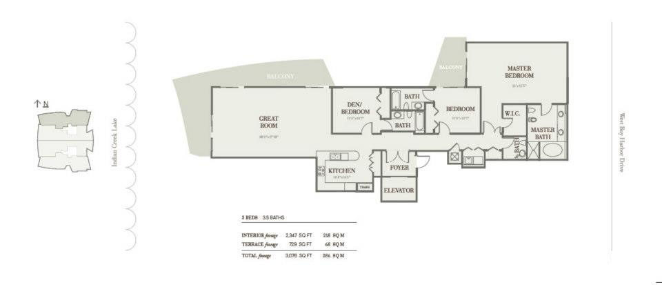Riva Bay Harbor - Floorplan 4