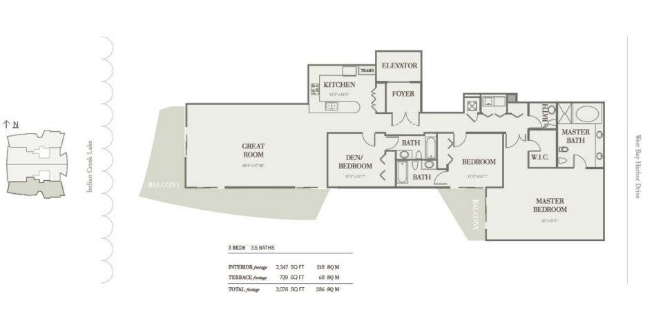 Riva Bay Harbor - Floorplan 1
