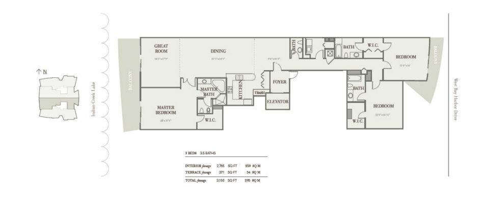 Riva Bay Harbor - Floorplan 2