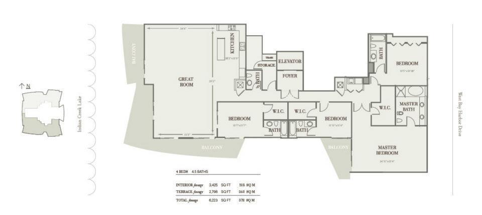 Riva Bay Harbor - Floorplan 9