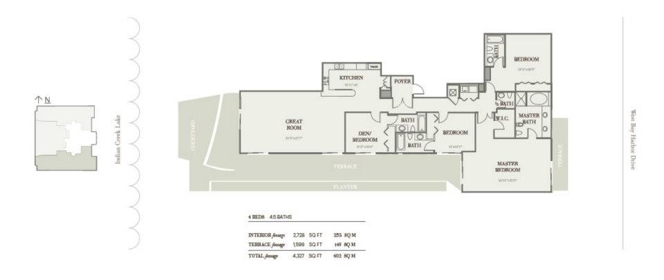 Riva Bay Harbor - Floorplan 5