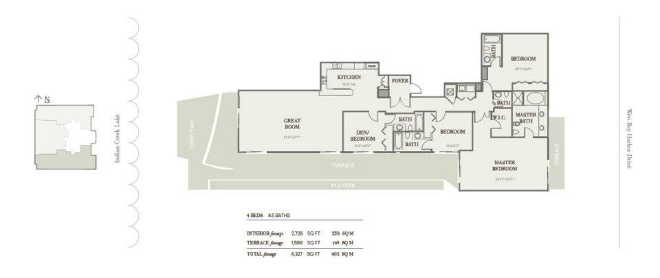 Riva Bay Harbor - Floorplan 5