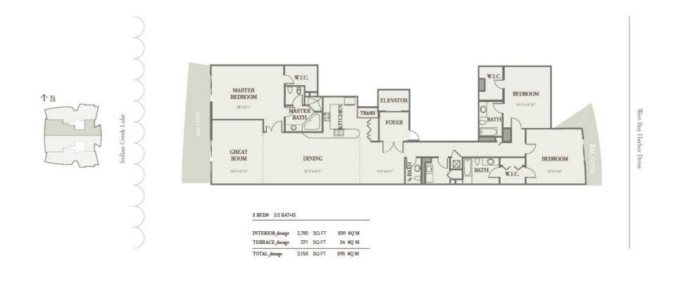 Riva Bay Harbor - Floorplan 3