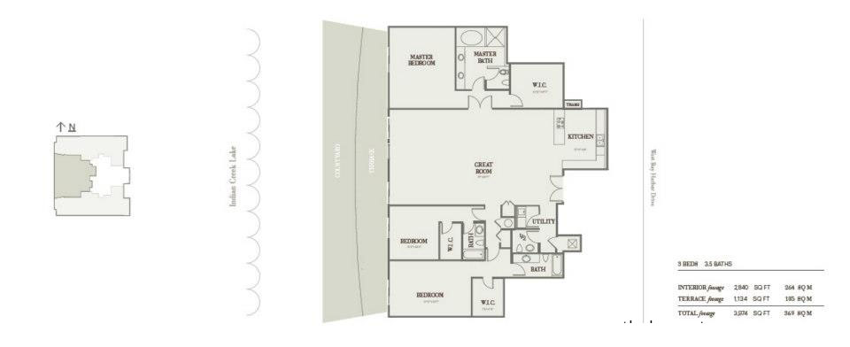 Riva Bay Harbor - Floorplan 6