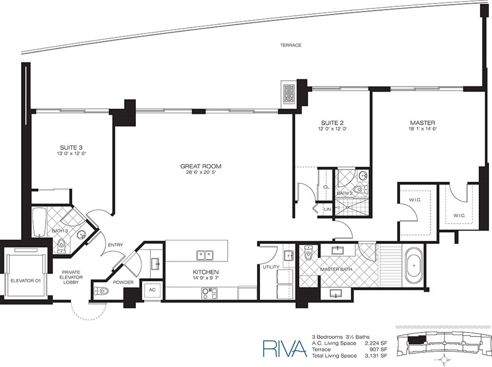 Riva - Floorplan 1